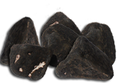chocolate coal boulders
