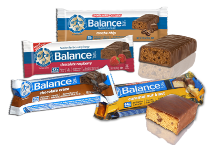 Balance Bars in popular  Flavors
