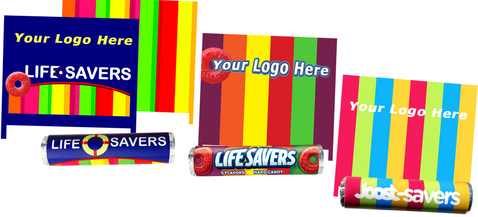 design ideas for Lifesaver wrappers