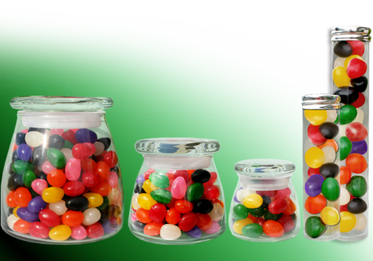 large Jellybean container types