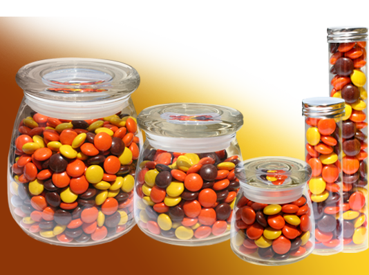 Reeses Pieces and Container Choices