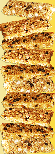 a view of unwrapped delicious Quaker Oats Chewy Bars