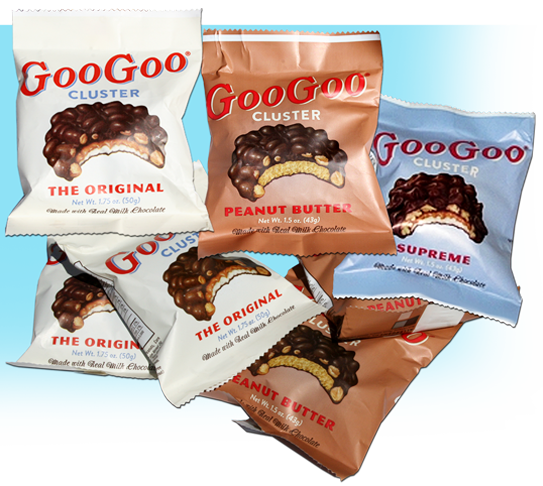 GooGoo Cluster candy
