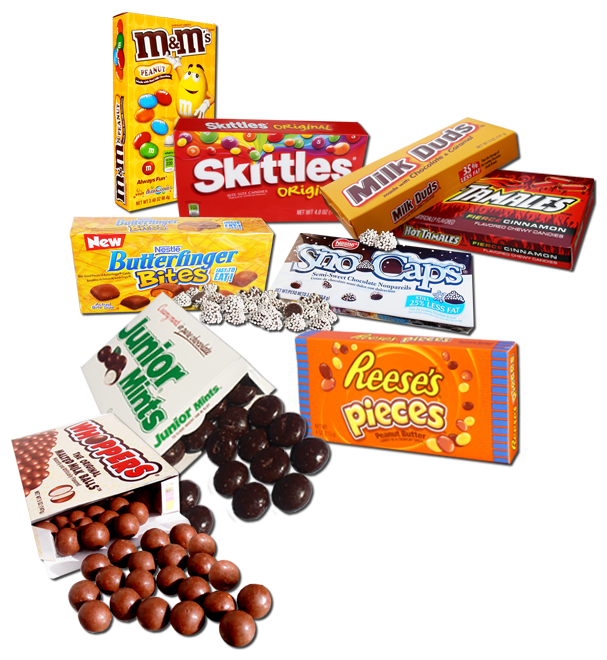 Popular brand Theater Box candy