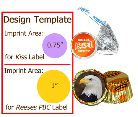 Hershey kisses peanutbutter cups global sweet treats for Free hershey kisses labels template