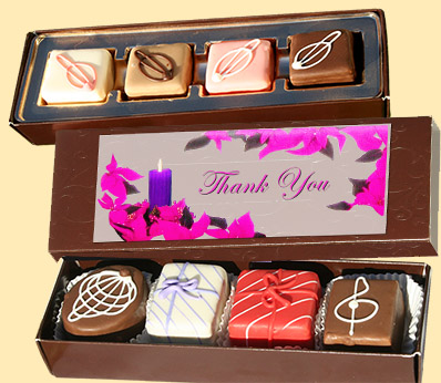 Petit Fours - customized with your logo on a giftbox