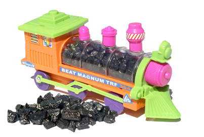 candy-filled train